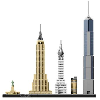 LEGO Architecture 21028 New York City [New York, USA], 598 pcs Building Blocks Price Philippines