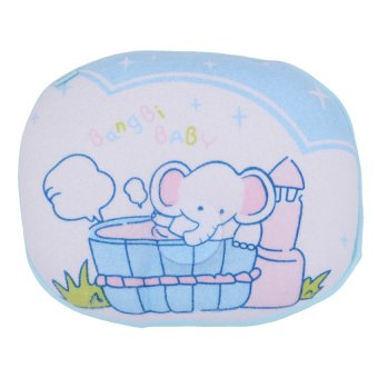 Harga Royal Baby Head Pillow(Blue)