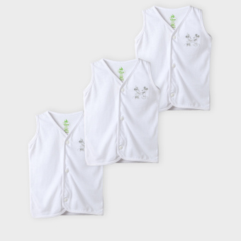 Disney Babies Mickey 3-Piece Snap-Up Top Set (White) Price Philippines
