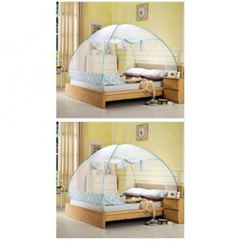 Mosquito Net 1.8m (Blue) Set of 2 Price Philippines
