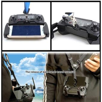Harga Remote Control Hang Lanyard Strap Sling Buckle Bracket Mount for DJI Mavic PRO - intl