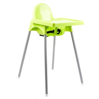 Babyyuga Adjustable Height High Chair (Green) Price Philippines