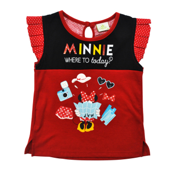 Minnie Mouse Shirt (red) Price Philippines