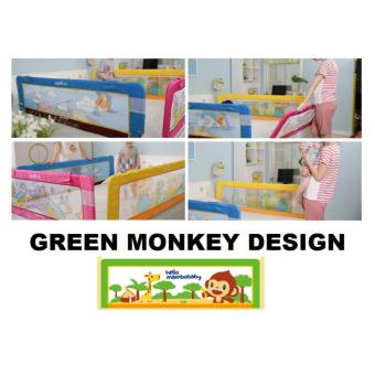 Fortress Baby Safety Mambo Bed Rail Green Monkey (1.5m EMBEDDED) Price Philippines