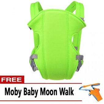 Baby Carrier (Apple Green) with FREE Moby Baby Moon Walk Price Philippines