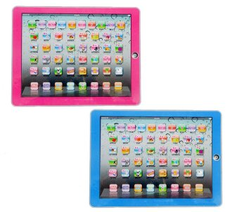 Harga Y-PAD English Computer Multimedia Learning Toy Computer (Pink/Blue) set of 2
