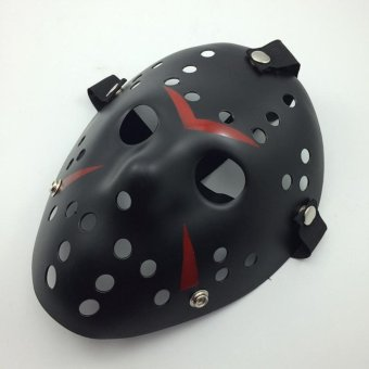 Retro Killer Masks Jason Voorhees Clown Mask Black Friday the 13th Freddy Hockey Halloween Costume Masquerade Mask - intl Price Philippines