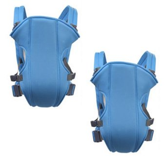 Adjustable Straps Baby Carriers (Light Blue) Set Of 2 Price Philippines