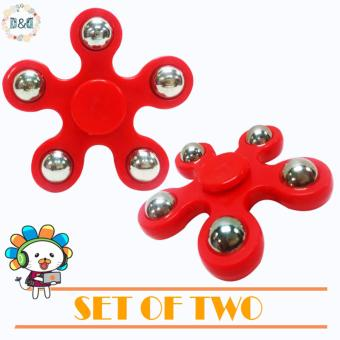 Harga D&D Hand Spinner Fidget Spinner Stress Focus Keep Toy Kids (SET OF TWO)