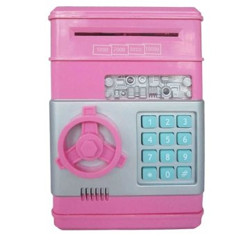 Harga Mini Electronic Money Vault Machine (Rose Pink)