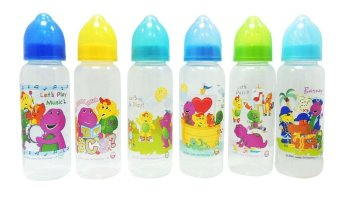 Barney 8oz Feeding Bottles with Caddy 6pcs Price Philippines