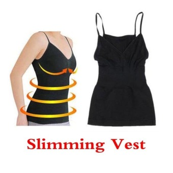 Weight Loss Fat Burning Black Color Slimming Vest Corset Body Shaper Chest UP Price Philippines