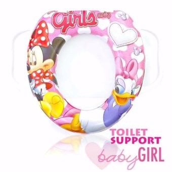 Toilet Seat Support (Minnie Mouse) Price Philippines