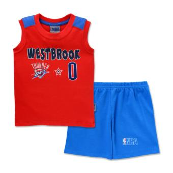 NBA Baby - Muscle Shirt and Shorts Set (Westbrook 0) Price Philippines