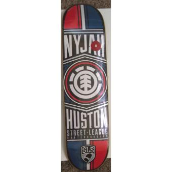 Element NYJAH Huston Street League 8 Skateboard Deck Yellow Price Philippines
