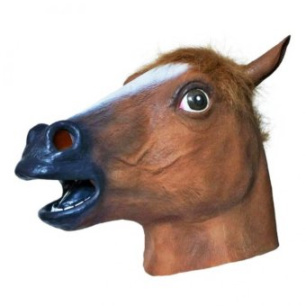 Asenso Novelty Latex Horse Head Mask Price Philippines