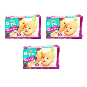 Pampers Active Baby Small (S) 14's Pack of 3 Price Philippines