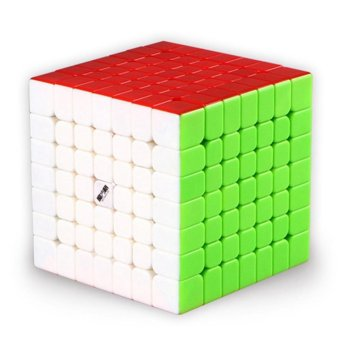Harga QiYi MoFangGe WuJi 7x7 Speed Cube Magic Cube Puzzles Brain Teasers Kids Toy Gift, Stickerless - intl