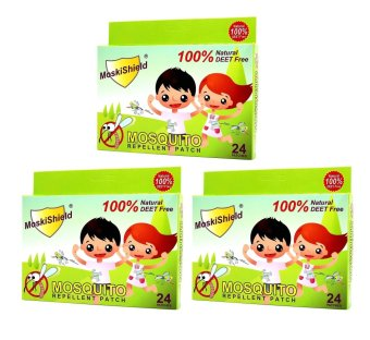 Moskishield Mosquito Repellant Patch Box of 24, Set of 3 Price Philippines