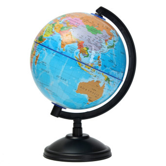 14cm World Globe Country Region District Map w/ Swivel Stand Geography Education - Intl Price Philippines