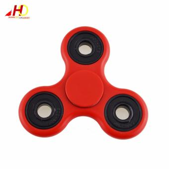 Tri Spinner Fidgets Toy Plastic EDC Sensory Fidget Spinner For Autism and ADHD Kids/Adult Funny Anti Stress Toys (Red) Price Philippines