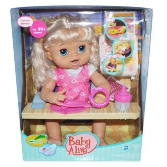 Harga My Baby Alive Doll (Pink)