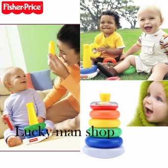 Harga Fisher Price Brilliant Basics Rock-a-Stack