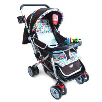 Toy Collections Irdy Reversible 3-Way Stroller (Brown) Price Philippines