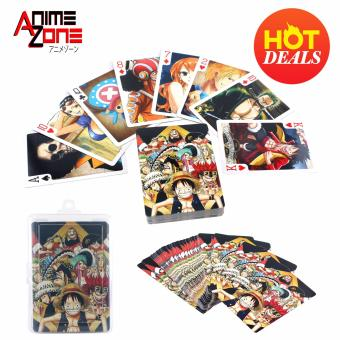 ANIME ZONE One Piece Bridge Poker Blackjack Solitaire Collectible Anime Playing Cards Price Philippines