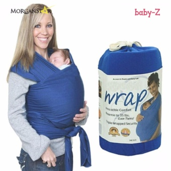 Eco Cub Moby Baby Wrap Carrier for Comfortable Baby Wearing (royal Blue) Price Philippines