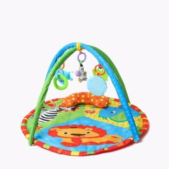 Harga Fitch Baby Forest Animal Activity Gym and Play Mat