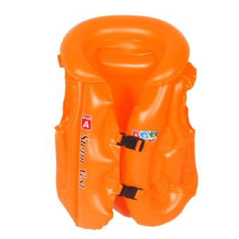 Toy Collections Inflatable Swim Vest for Kids (Orange) Price Philippines