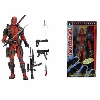 Harga Neca Deadpool 1/4 Scale Pvc Action Figure