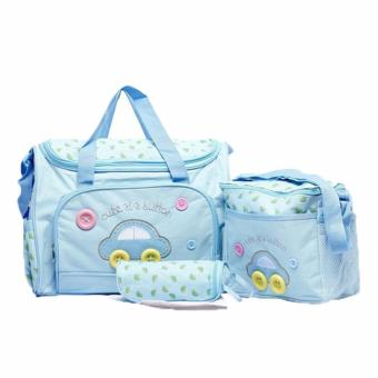 5-in-1 Multi-function Baby Diaper Tote Handbag Set (SKY Blue) Price Philippines