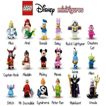 Harga LEGO Disney Series Minifigures - Complete Set of 18 Minifigures (71012)