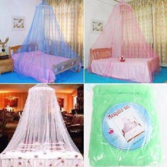 Mosquito Round Lace Curtain Dome for Babies Protection in Green Color Price Philippines