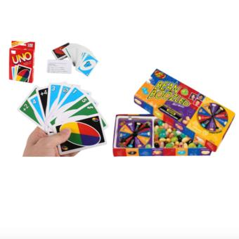 Standard UNO Cards (108) and Jelly Belly Bean Boozled Spinner Candy Price Philippines
