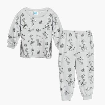 Nap Boys Dinosaur Pajama Set (Gray) Price Philippines