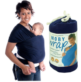 Eco Cub Moby Baby Wrap Carrier for Comfortable Baby Wearing (Blue) Price Philippines