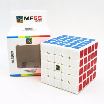 Harga Moyu Mofang Speed Rubik's MF5S 5x5X5 Magic cube MF8801 (White Body)