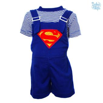 Baby Steps Superhuman Baby Clothes Boy Baby Jumper (Navy) Price Philippines