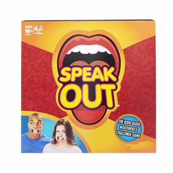 Harga Speak Out The Ridiculous Mouthpiece Challenge Game