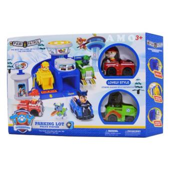 Paw Patrol Police Parking Lot Toy Set Price Philippines