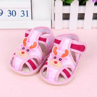 Harga Fisher-price Fawn shoes pink