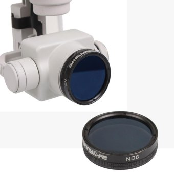 Harga HD Camera ND8 Filter Lens Accessory Suit For DJI Phantom 4 Pro Black - intl