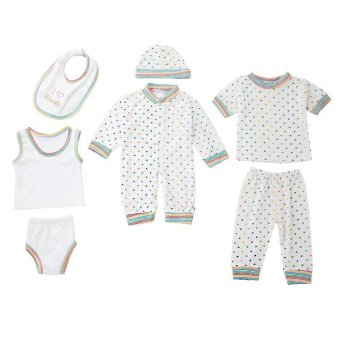 8pcs Newborn Babies Clothes Set Cotton Stripe Dot Price Philippines