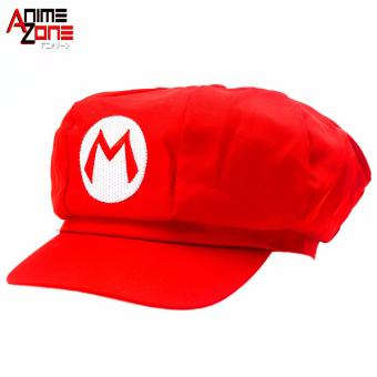 Harga ANIME ZONE Mario Bros. Super Mario Hat Unisex Fashionable Snapback Cosplay Cap
