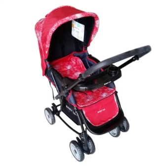 Toy Collections Baby 1st S-037RC Rocking Stroller with Tray(Red) Price Philippines