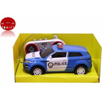 Harga SHOP AND THRIFT 6138K 1:28 Scale Remote Control Car Mini Car Police Toys for Children