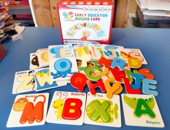 Early Education Wooden Alphabet Card Price Philippines